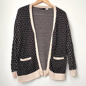 Urban Outfitters BDG Diamond Knitted Cardigan
